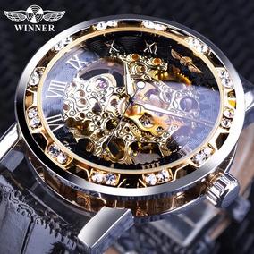 De Hombres Hombre WinnerEsqueleto Reloj Mecánico Negocios QxtsdhrCB