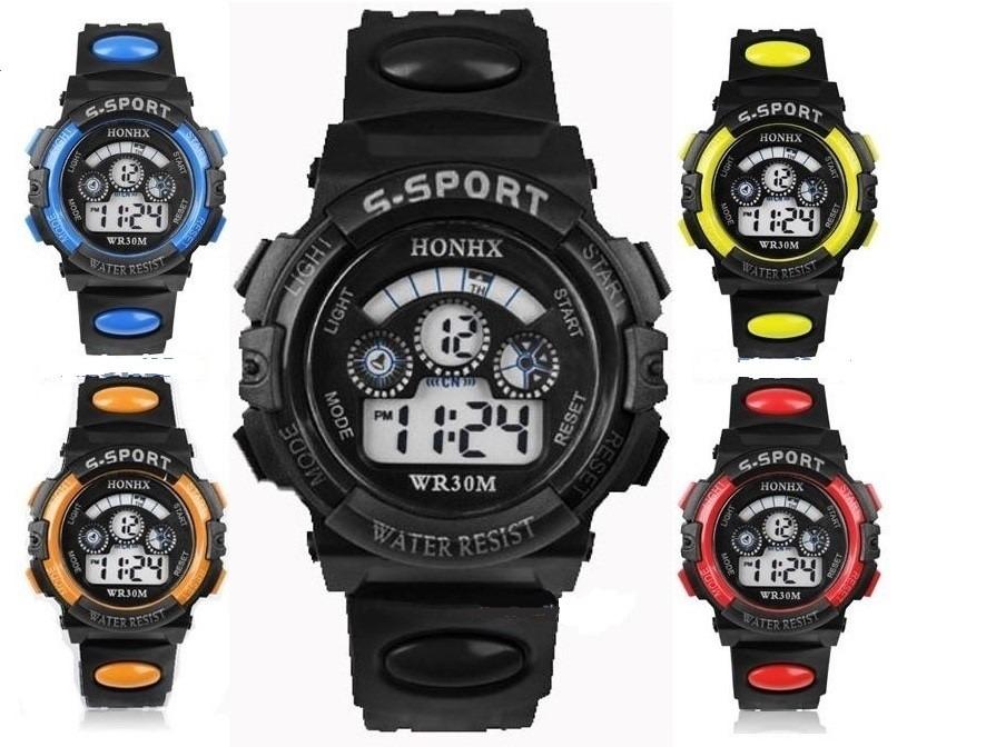 4c86e03184a8 Reloj Honhx Moda Sport Para Niño -   250.00 en Mercado Libre