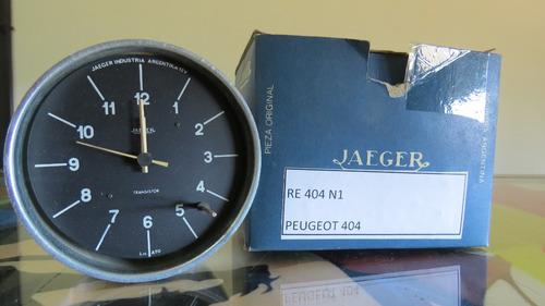 reloj horario tablero peugeot 404 nuevo original jaeger
