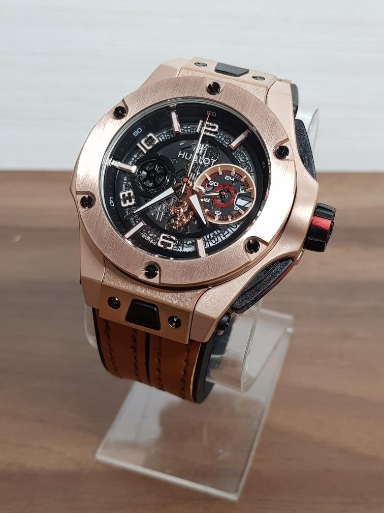 fe69817bdd4f Reloj Hublot Big Bang Ferrari Oro Rosa (fotos Reales) -   3