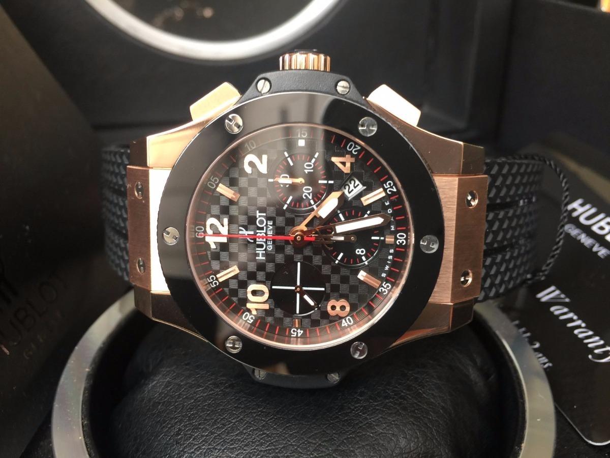 4a97e603dcf4 reloj hublot suizo eta big bang gold rose ceramic automatico. Cargando zoom.