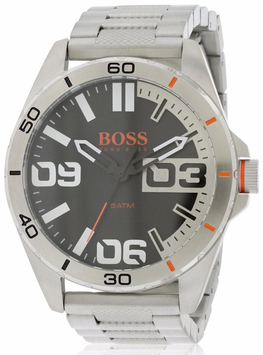 27c9114b65d1 reloj hugo boss 1513288 plateado para caballero envío gratis. Cargando zoom.