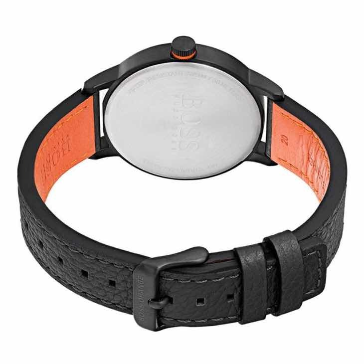 0e9f0a69c69e Reloj Casual De Cuarzo Hugo Boss Piel Y Acero 1550020 Negro ...