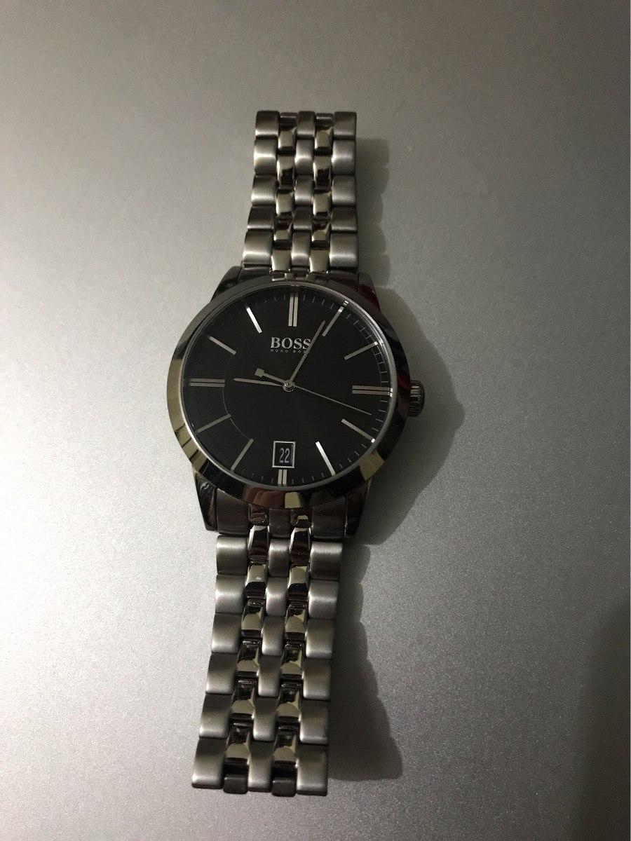 dfb13cfe9f16 reloj hugo boss acero inoxidable edición limitada. Cargando zoom.