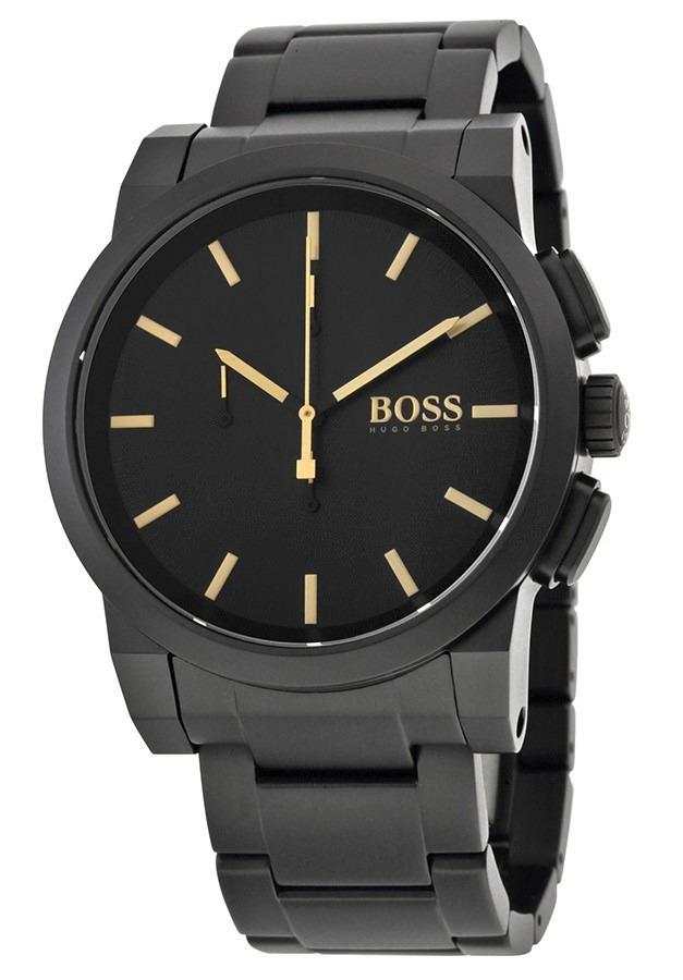 e56f1282e821 reloj hugo boss acero inoxidable negro hombre 1513276. Cargando zoom.