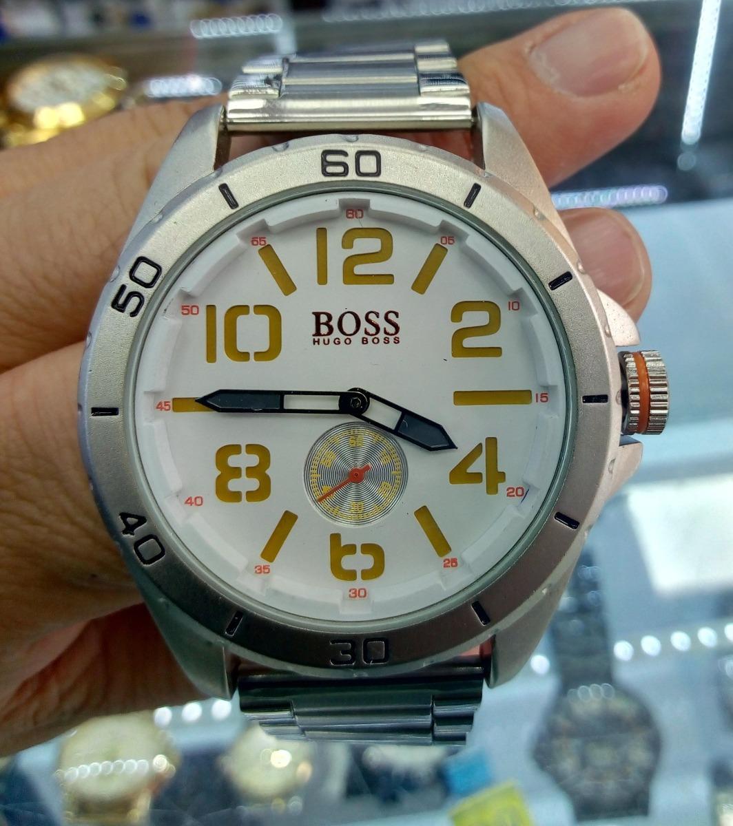 3ca9e4d4277d Reloj Hugo Boss Analogo Para Hombre En Acero -   80.000 en Mercado Libre
