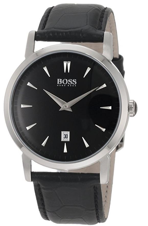 Reloj Hugo Boss Classic Acero Piel Negro Hombre 1512637 ...