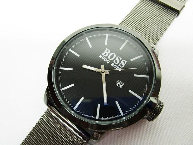8a88c3822 Reloj Hugo Boss Con Fechador Y Pavonado Envio Gratis - $ 285.00 en ...