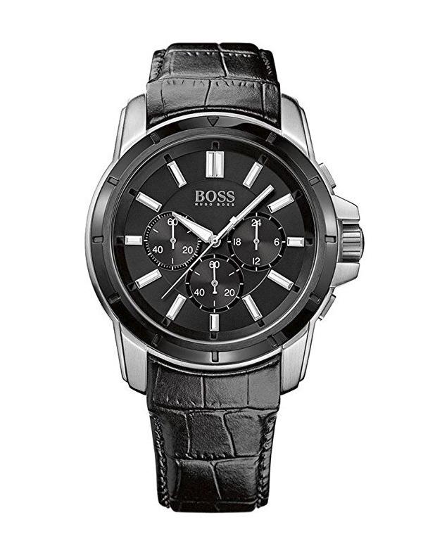 041fbc1b2c4c Reloj Hugo Boss Cronógrafo Acero Charol Negro Hombre 1512926 ...