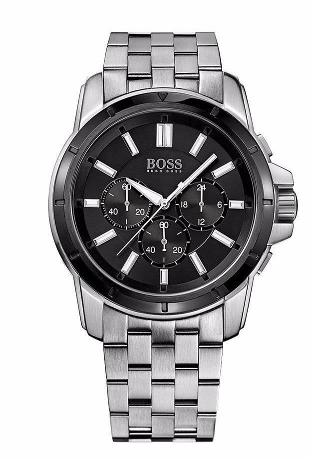 1ab9b673e24f reloj hugo boss cronógrafo acero hombre 1512928. Cargando zoom.
