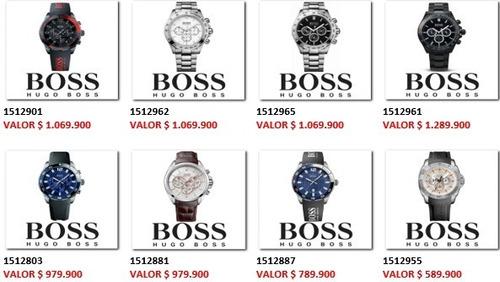 reloj hugo boss deportivo