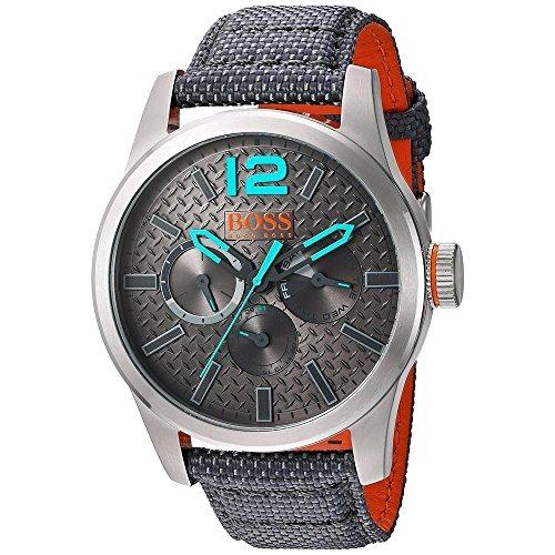 639ebc705bc3 Reloj Hugo Boss Para Hombre 1513379 Color Gris Pantalla -   1.563 ...