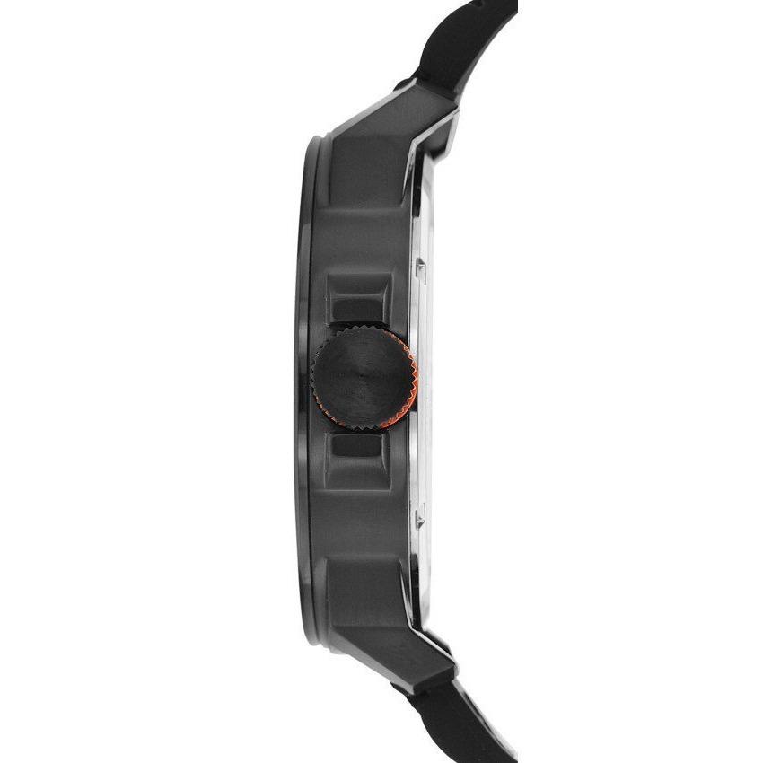 592b71b7c4e8 reloj hugo boss orange 1513005 para caballero negro 50mm. Cargando zoom.