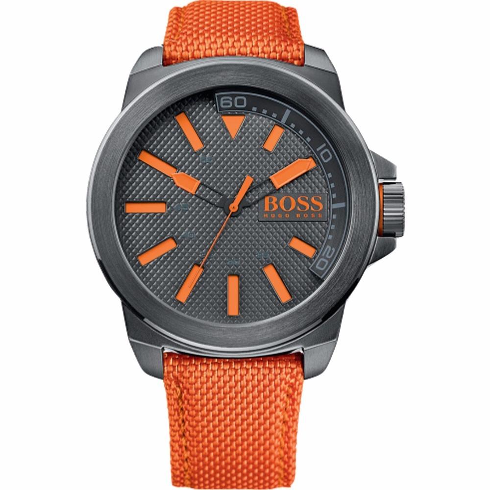 319bfd9cd04f reloj hugo boss orange 1513010 naranja gris para caballero. Cargando zoom.
