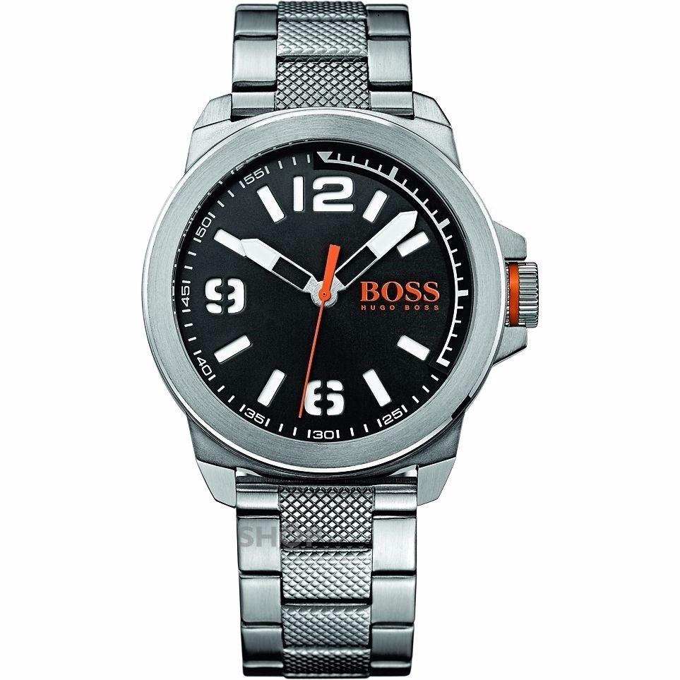 bd6823238a9a reloj hugo boss orange 1513153 plateado para hombre. Cargando zoom.