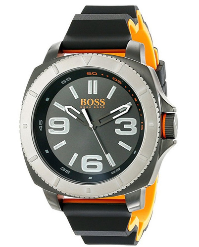 reloj hugo boss orange acero silicón hombre 1513109