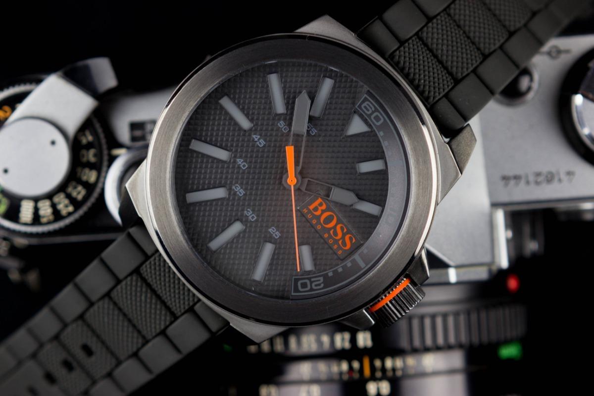 6abd3f583a55 reloj hugo boss orange gris negro mod. 1513005 caballero. Cargando zoom.