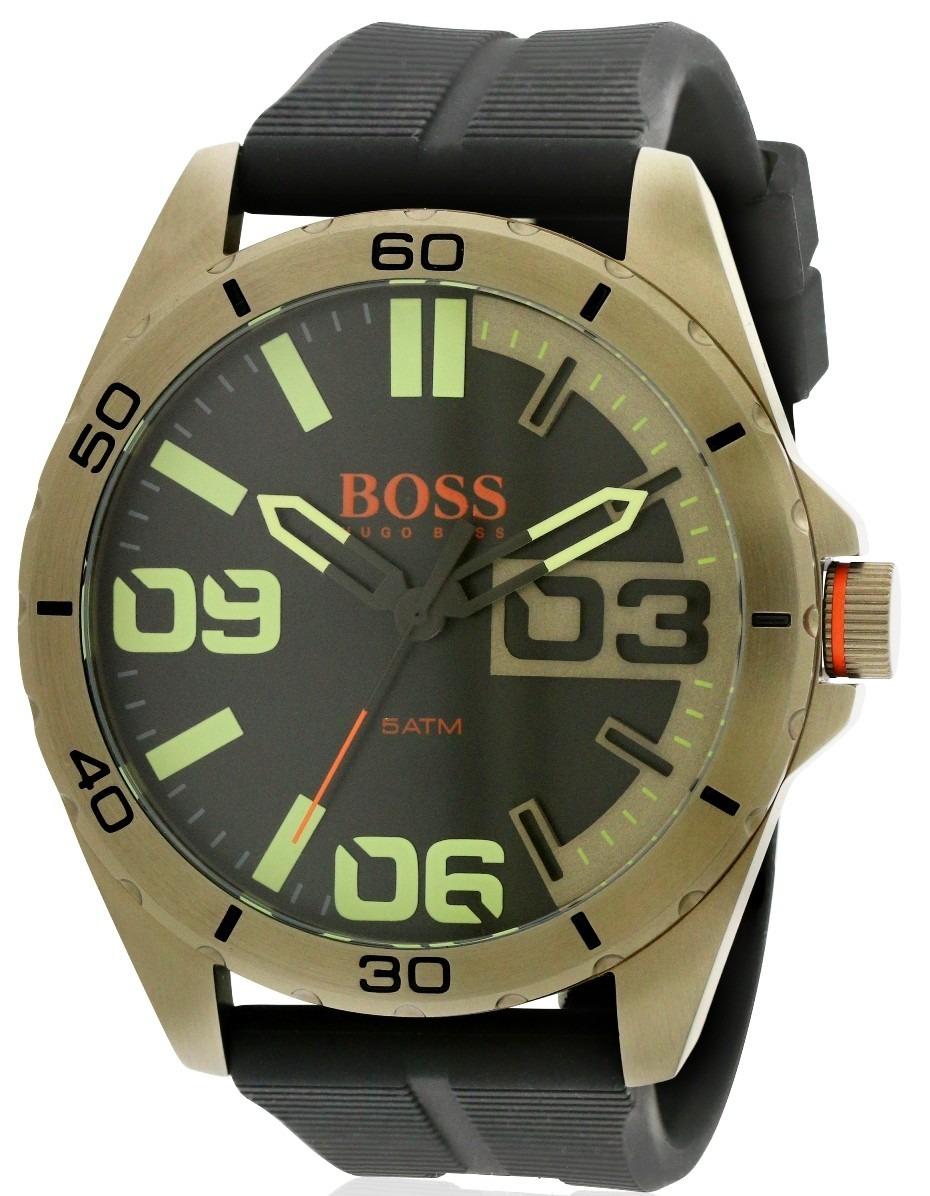 6c652f84f7fe reloj hugo boss orange silicon negro 1513287. Cargando zoom.
