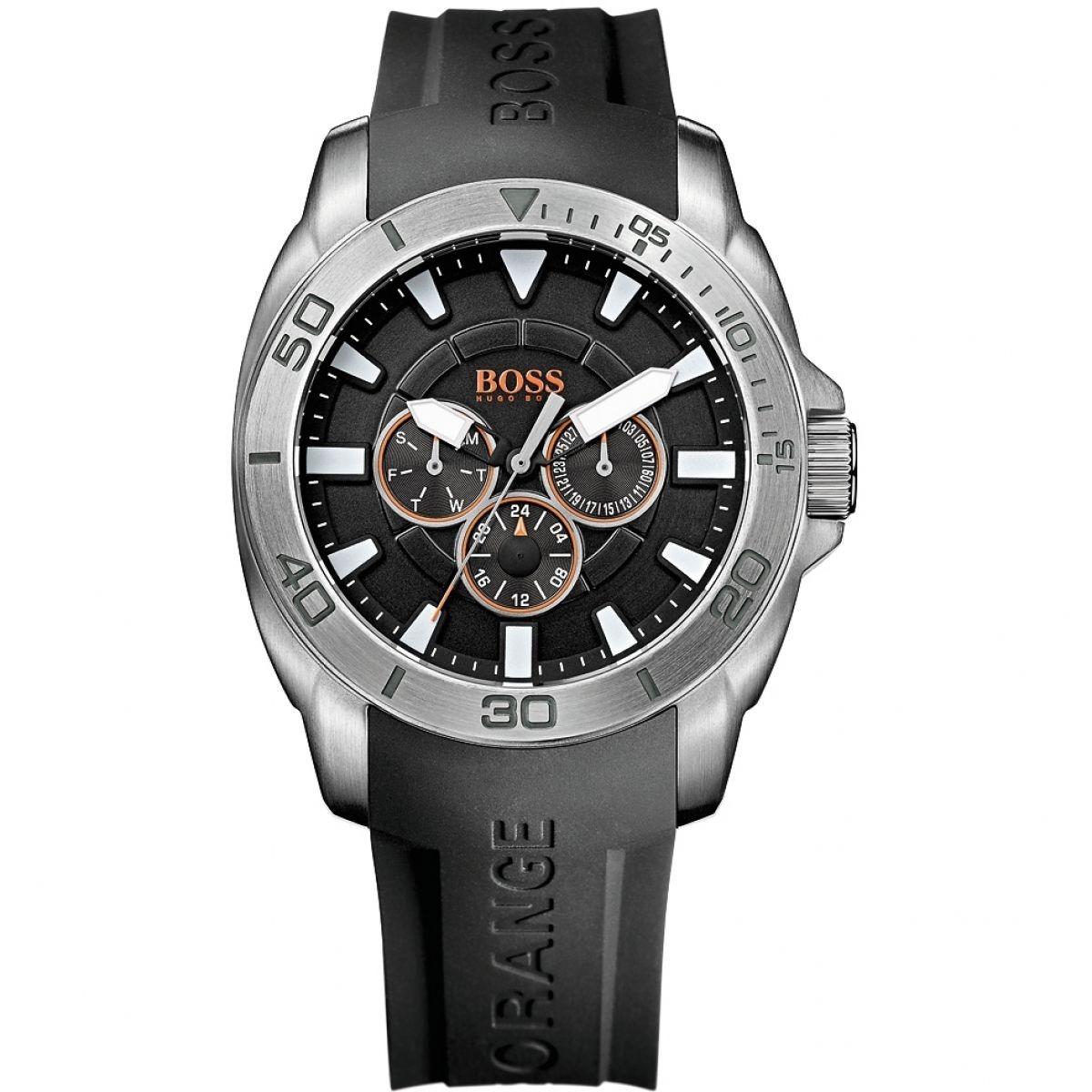 e41c0b7110c4 reloj hugo boss orange silicona negro 1512950. Cargando zoom.