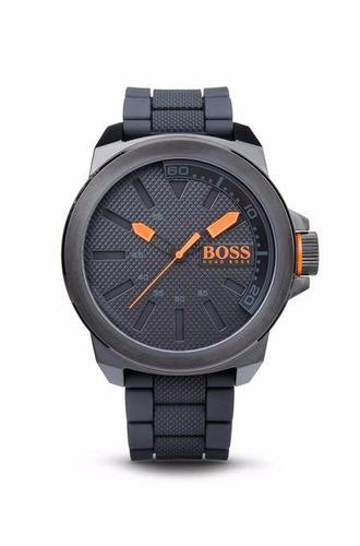 Reloj Hugo Boss Ornge 1513004 Negro Para Hombre 4 329