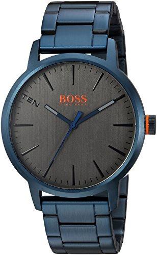 111eae2b6619 Reloj Hugo Boss Para Hombre 1550059 Copenhagen Color Azul -   1.359 ...