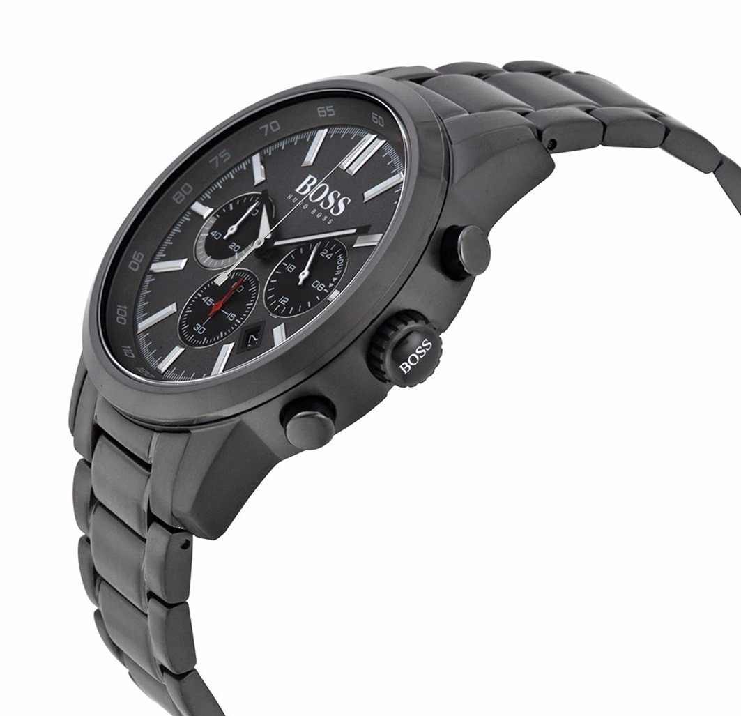 8d0128341f5a reloj hugo boss racing acero negro hombre 1513190. Cargando zoom.