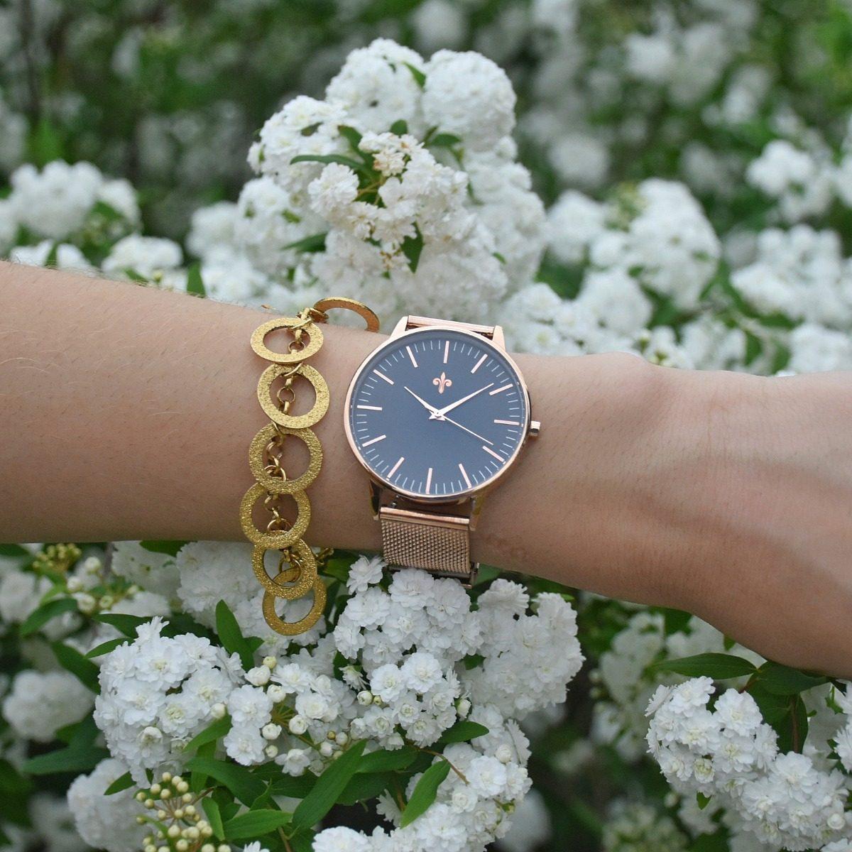 2e26e4da9b9d Reloj Hunt Budapest - Malla Acero Inoxidable - Mujer -   3.590