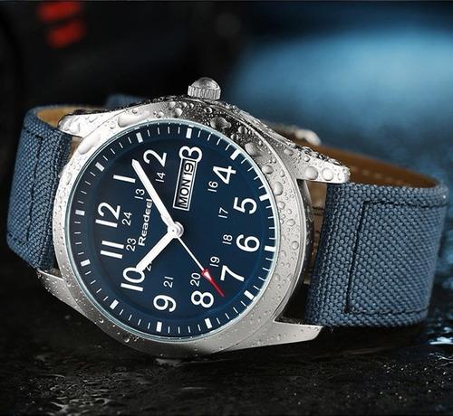 reloj importado readeel deportivo hombre fechador