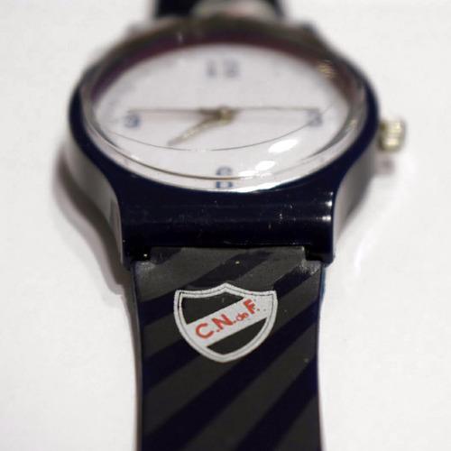 reloj infantil club nacional de football rayas
