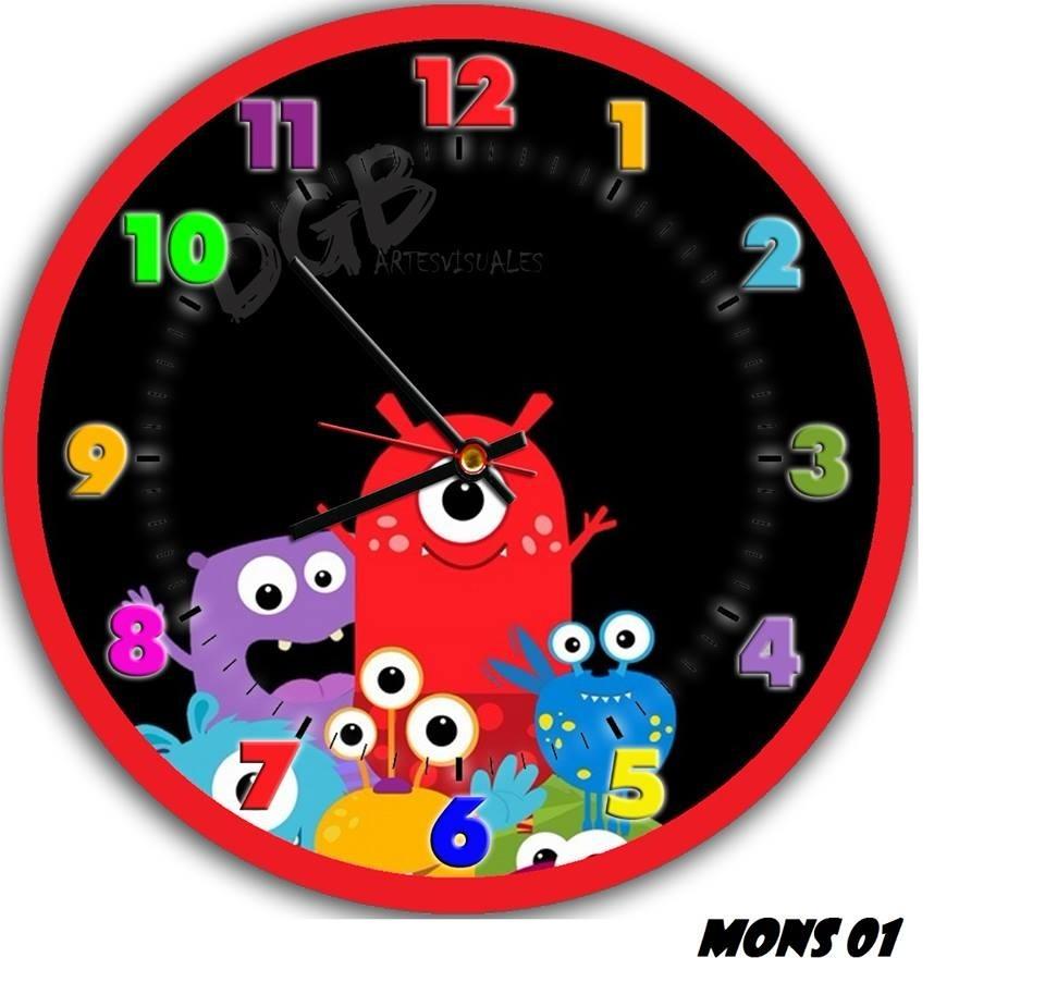 9761a570de0f reloj infantil de pared 30cm unicos exclusivos!! Cargando zoom.