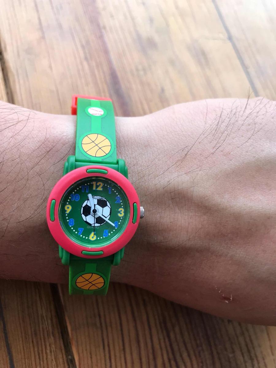 2f8d91fbaad4 Reloj Infantil Youme Balones -   350.00 en Mercado Libre