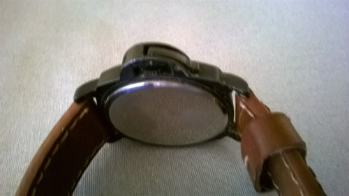reloj infantry - con fechador - malla cuero excelente estado