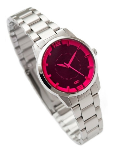 reloj infinit petit - silver.pink