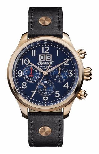 reloj ingersoll i02401 delta cuarzo