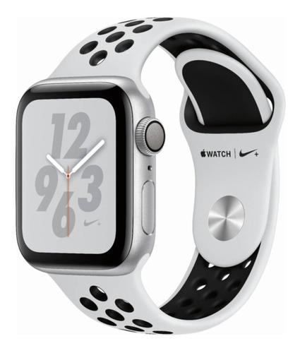 reloj inteligente apple watch nike+ serie 4 gps 44mm nuevo sellado