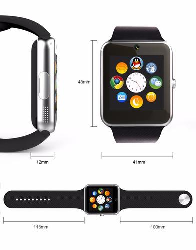 reloj inteligente camara sd bluetooth smart watch