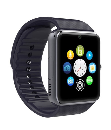 reloj inteligente celular gt08 sim card smart watch camara