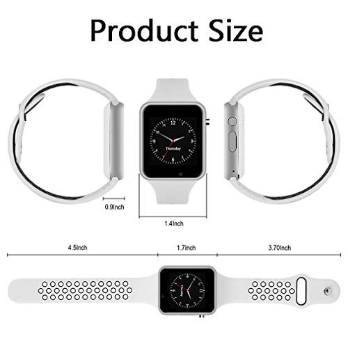 reloj inteligente con pantalla tactil compatible con bluetoo