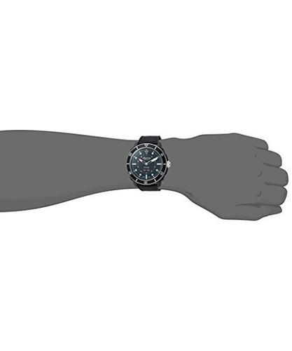 reloj inteligente de acero inoxidable y caucho  cuarzo  d