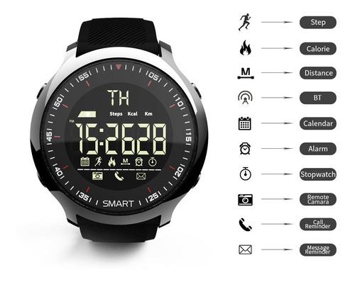 reloj inteligente deporte lcd impermeable lokmat mk18
