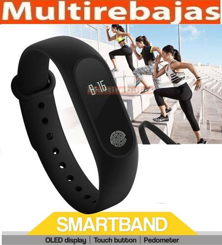reloj inteligente deportivo bluetooth podómetro tipo pulsera