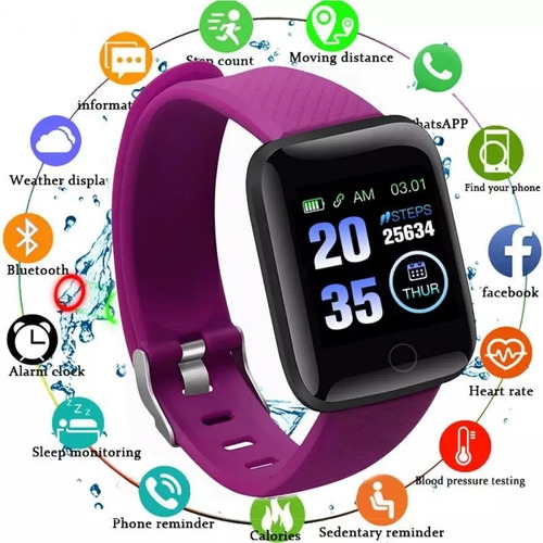 reloj inteligente deportivo d13 regalo mujeres hombres niños