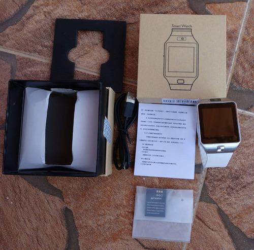 reloj inteligente dz09 sim card camara smartwatch tactil sd