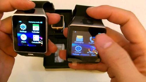 reloj inteligente dz09 smartwatch + lápiz táctil + bateria