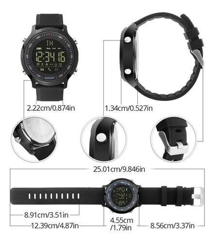reloj inteligente ex18 smartwatch