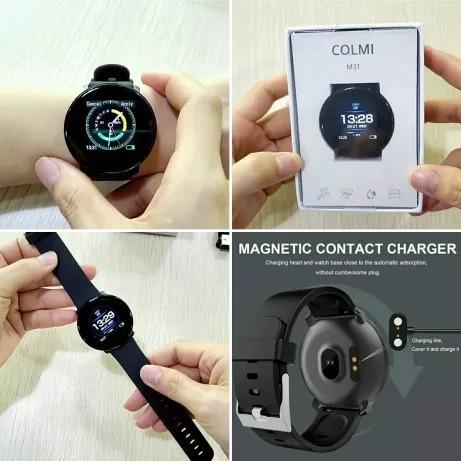 reloj inteligente fitness colmi m31 pantalla táctil smart