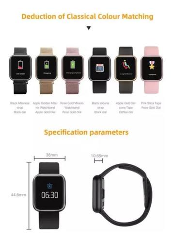 reloj inteligente gps smartwatch sumergible control música