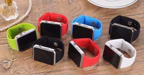 reloj inteligente gt08 smarwatch sim sd cámara bluetooth.