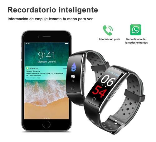 reloj inteligente koscheal deportivo impermeable ip68 (gris)