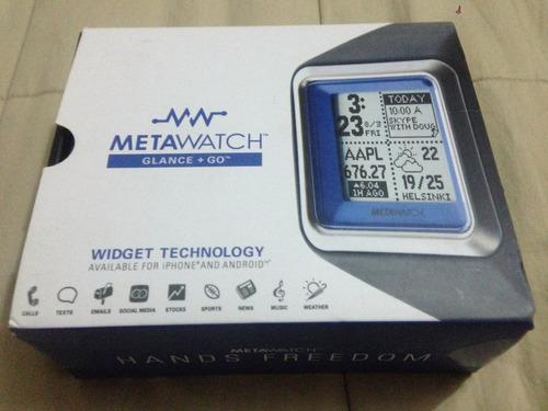 reloj inteligente metawatch mw300 para iphone android nuevo